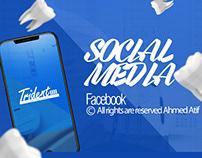 Social media Trident Dental Care Vol 1