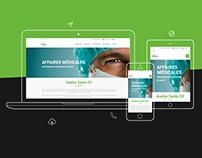 Axelys santé - Design & développement website