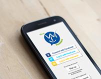 Mobile App design for Nordic World Ski Championship