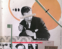 HANDMADE COLLAGE - COLLAGE BOOK PROJECT