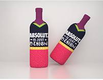 Absolut - Bottle Design