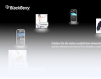 INSTORE CONCEPT AND DESIGN for BlackBerry