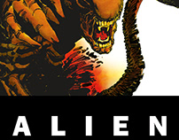 ALIEN | COMIC BOOK DESIGN