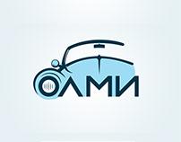 "Логотип для сети автомоек ""ОЛМИ"""