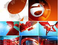Various style frames & concept design