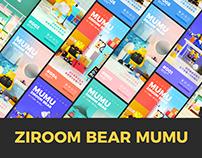 2020 ZIROOM BEAR MUMU