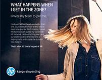 HP - Recruitment Campaign