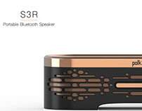 S3R: Portable Bluetooth Speaker