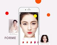 forme  基于皮肤测试的美妆推荐 最适合你皮肤的化妆品