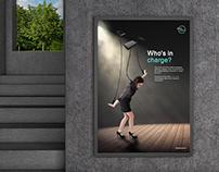 SiBerkreasi - Technology Addiction Campaign Poster