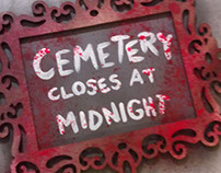 DIY Cemetery Sign Craft Project