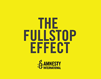 Amnesty International - The Full Stop Effect