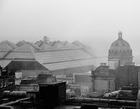 Foggy Glasgow (cityscapes)