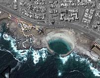 Digital rendering site plan - Parque Playa Trocadero