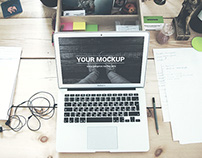 MacBook Air 13 – 2 PSD Mockups