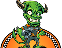 Monster Character Race Driver