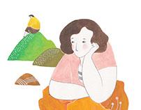 女人迷 illustration