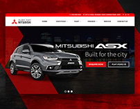 Mitsubishi CarWorld Subic Website Design