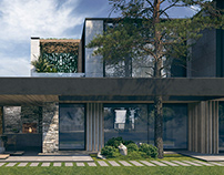 """""""PINE ESTATE"""" house by AddLine group"""