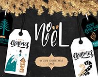 Gift christmas tags