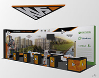 Дизайн выставочного стенда для ГК «КВС», осень 2019
