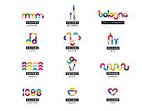 Logo and payoff concept for Bologna city branding