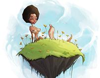 Black girl island
