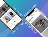 Concept UI/UX Design for Shopping App