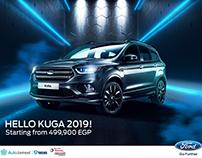 Ford Kuga 2019 campaign