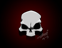 Skull speed paint and vector art