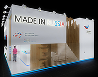 Exhibition stand for the Russian Export Center