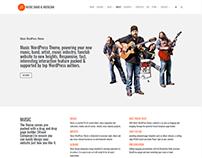 About - Music WordPress Theme
