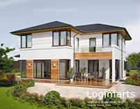 Cottage 3D Rendering
