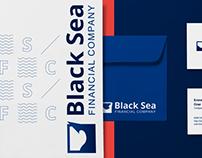 Black Sea Financial Company Logo&Identity