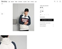 1975&OUT sweatshirts / Bershka Man