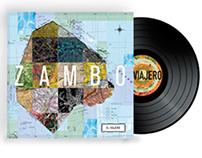 "Diseño de tapa para Vinilo - para ""El Viajero"" - Zambo"