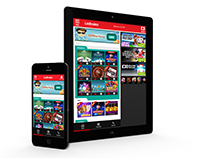 Ladbrokes : Games Mobile ReDesign - UI & UX