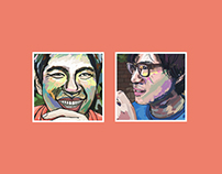 illustrator project for Sang-soo Hong Movie poster