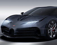 2020 Bugatti Centodieci Noire
