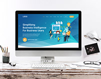 Product Company Landing Page-UI UX Design
