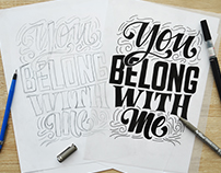 LOVE SONG   Custom Lettering