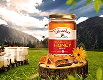 Honey Commercial Packshot