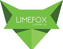 LimeFox logo concept