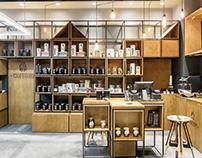 Coffee and tea shop / 2015