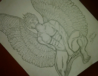 Icarus and the Golden  Apple