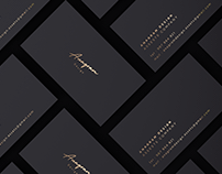 Corporate Identity Gold and Black