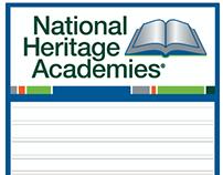 Exterior signage / NHA & NHA Schools