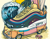 Air Max 1/97 Sean Wotherspoon Sneaker Art