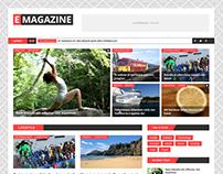 E Magazine - Blog & Magazine Theme