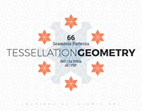 Tessellation Geometry Patterns + Freebies